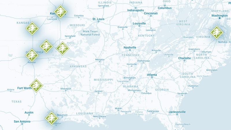 Arbor Masters Map